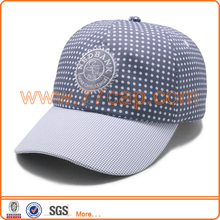 Customized embroidery 100% polyester microfiber fabric baseball cap