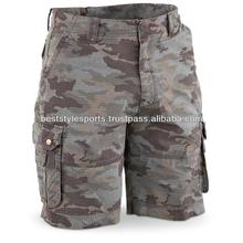 Camo Cargo shorts for men