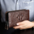 2019 trend crocodile pattern fashion casual men's acrylic clutch bag business large capacity high quality handbag for men