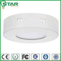 Bed room AC220V 18w white color mounted led ceiling light