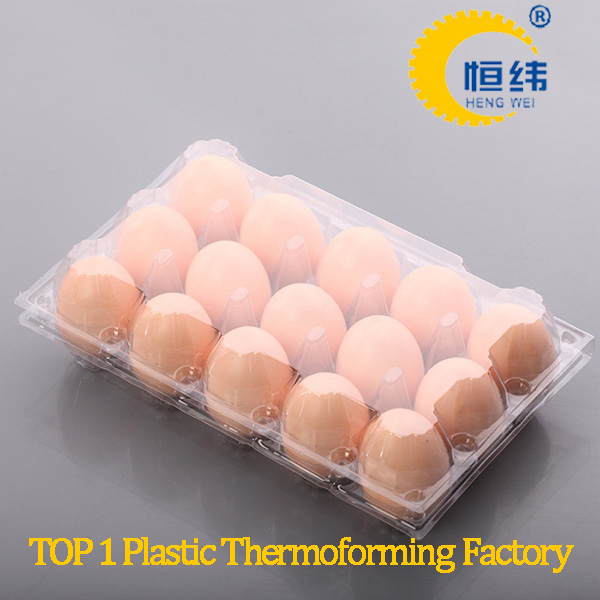 pet material plastic eggs packing tray
