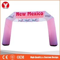 Inflatable shaped Arch Door Advertising customized