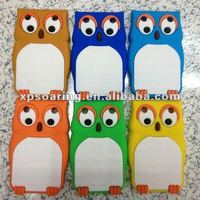 owl silicon case back cover for Blackberry curve 9320 9220