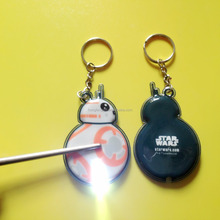 Wholesale led soft pvc keychain/rubber key ring/3D reflective key chain