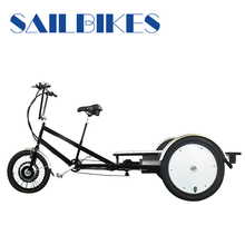 Aluminium alloy frame flatbed 3 wheel tricycle for cargo