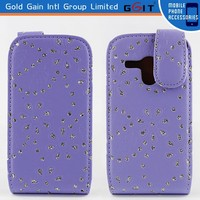 Fashion PU Leather Case For Samsung S3 Mini I8190 Cover