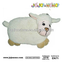 Plush animals lamb hot water bottle cover / hot water bottle with animal plush cover
