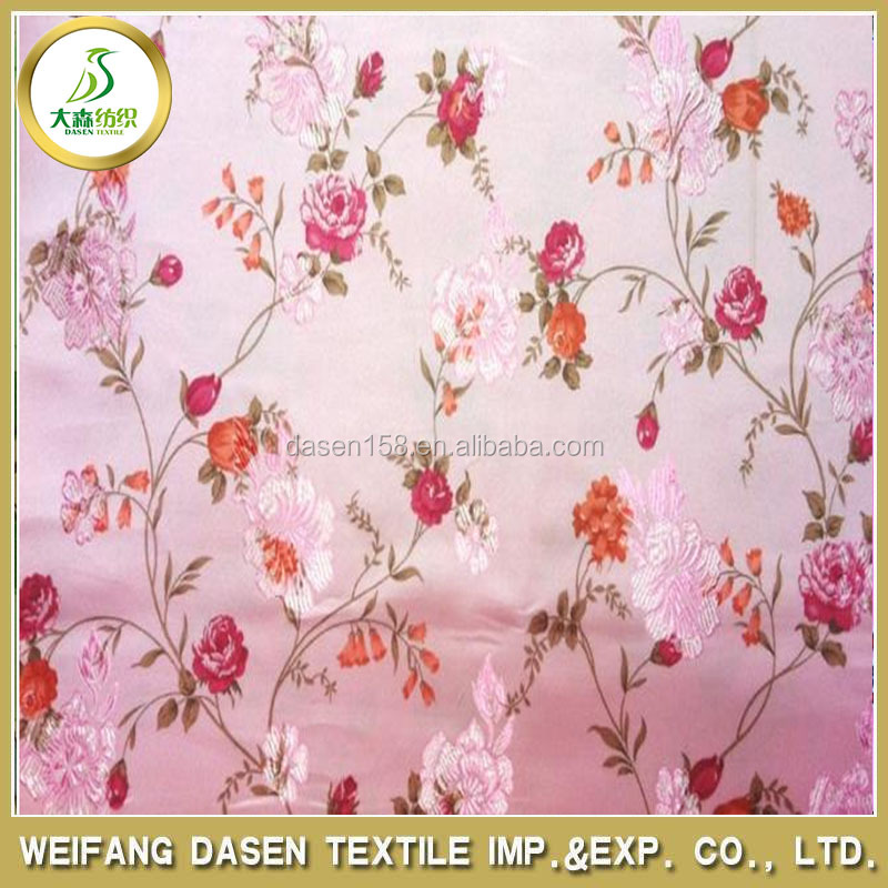 new fashion japanese kimono fabric flower print fabric design for japanese girl