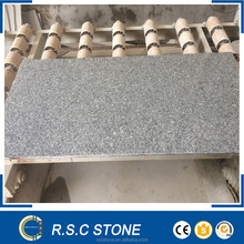 G603 leather finish steel grey granite slab in popular sale