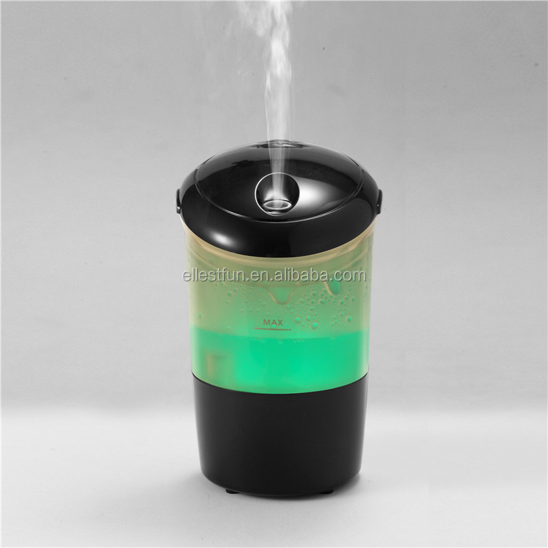 Mini car air purifier/electronic car aroma diffuser/plastic car air humidifer