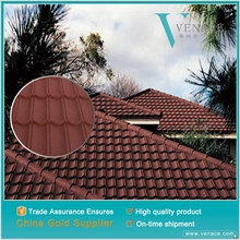 Decorative building material shed roof tiles