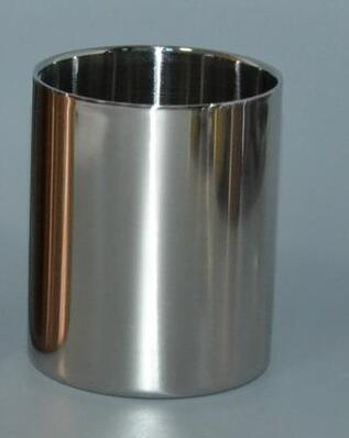 Silver/golden/rose Steel metal jar for candle Manufacturers