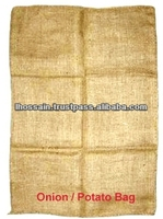 Biodegradable Mesh 100% Natural Jute Fiber Potato Bag