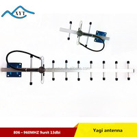 GSM 900MHz Cell Phone Signal Repeater Booster Amplifier 13dBi Yagi Antenna