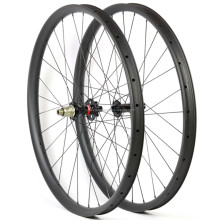 Carbon fiber 29er boost mtb wheels disc hub mtb bicycle wheel tubeless mountain bike carbon wheelset Novatec disc hub D791/D792