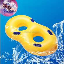New inflatable ring ,water swim ring on swimming pool towable ski ring