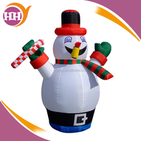 airblown white inflatable snowman for sale