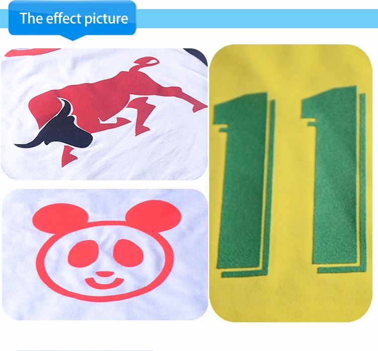kenteer-Flock heat transfer paper vinyl