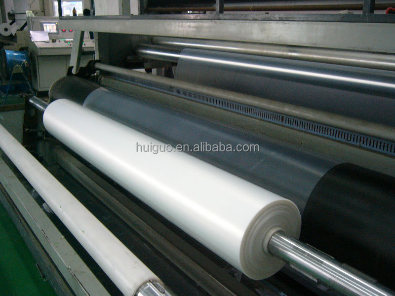 plastic film HDPE sheet on roll