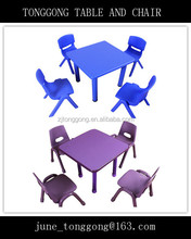 Used Kids Preschool Kindergarten Classroon Furniture for Sale ,Child dining table and chairs