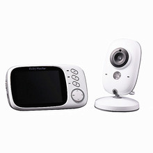 3.2inches Wireless Video Baby Monitor 1080P Baby Monitoring Camera Kids Home Security Camera