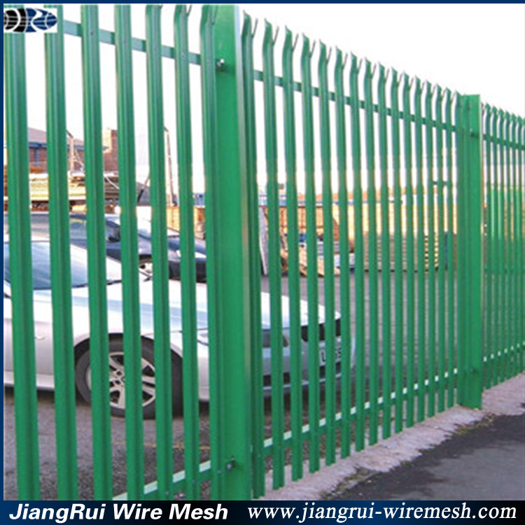 palisade europe fence panel for decoration and private garden