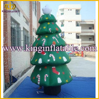 Strong Material And Tight Stitching Giant Xmas Decoration Inflatable Christmas Tree