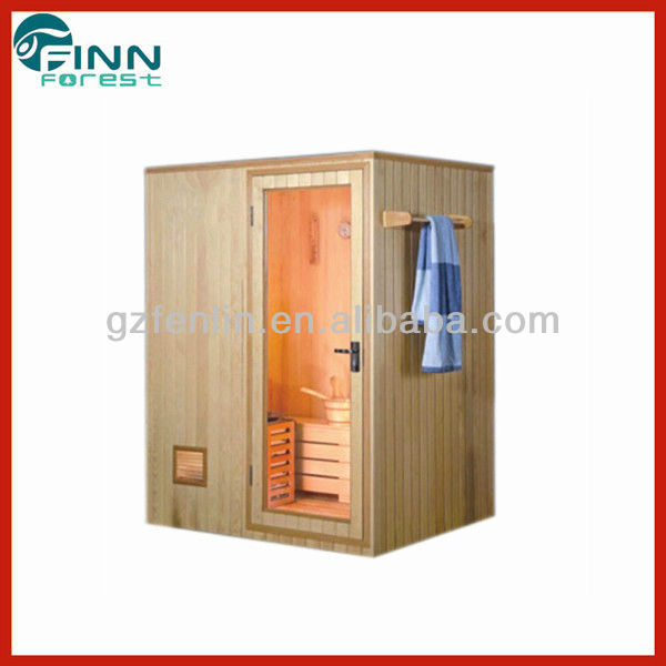 Factory infared mobile sauna room for two person