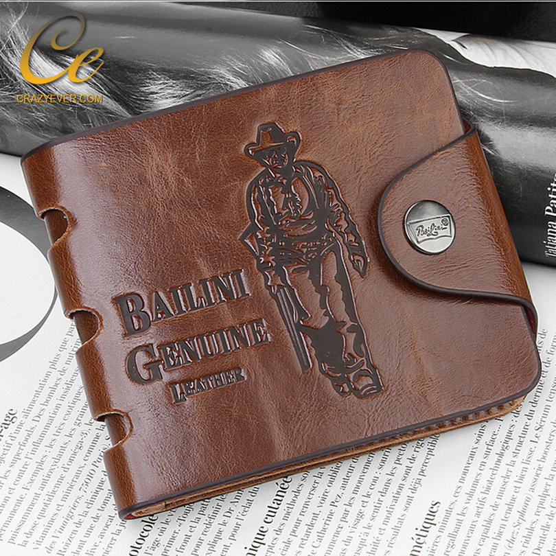China Factory Leather Rifd Wallet Wholesale Imperial Horse Men's Wallet