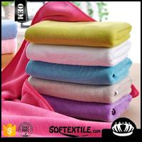 Softextile bulk factory 100% cotton/microfiber roll towel fabric for bath towel in meter