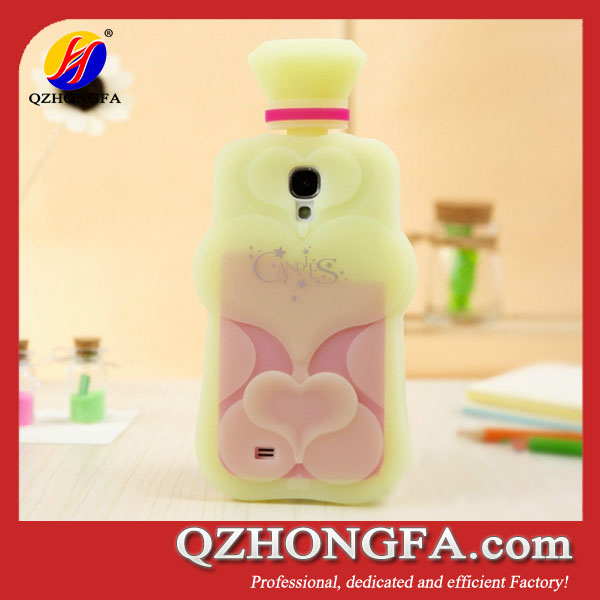 Fashion Silicone Perfume Bottle Case For iPhone 5 5S