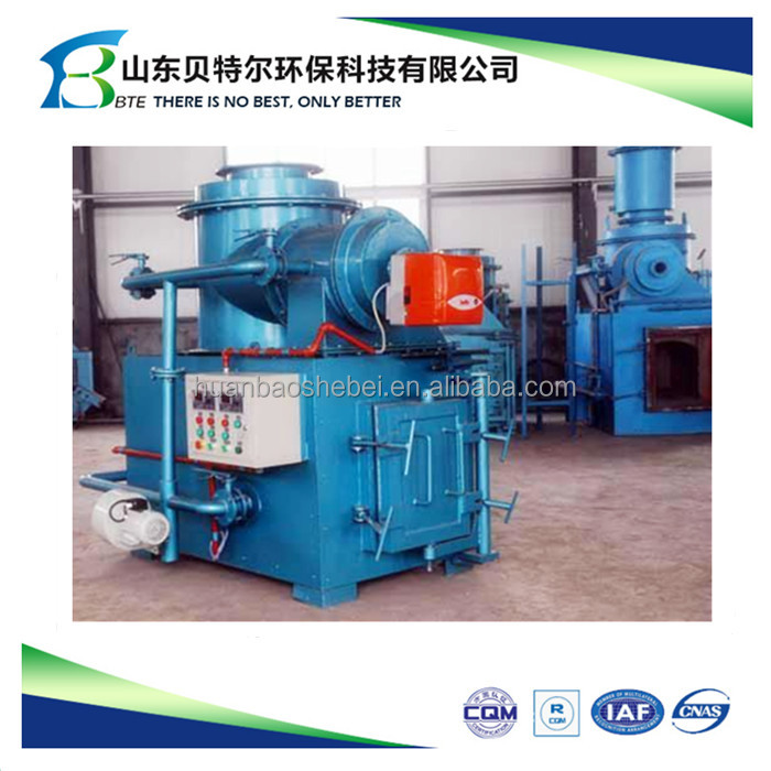 Small Animal Waste Incinerator,Gasfication And Melting Furnace