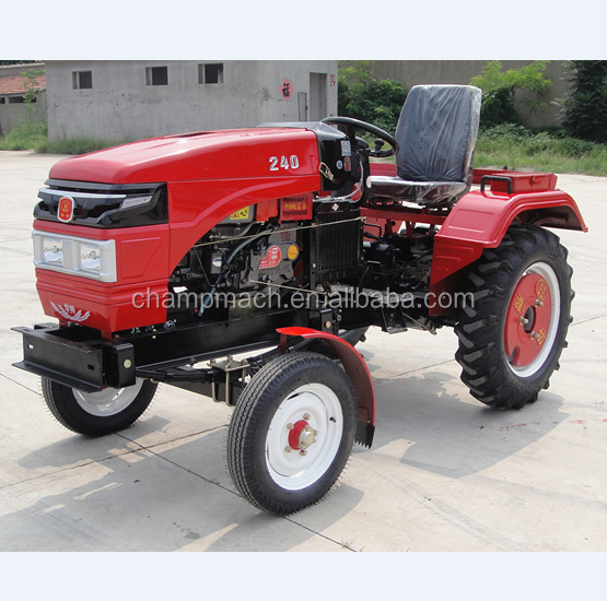 15-30hp mini belt transmission tractor match with one cylinder engine four wheel farm tractors