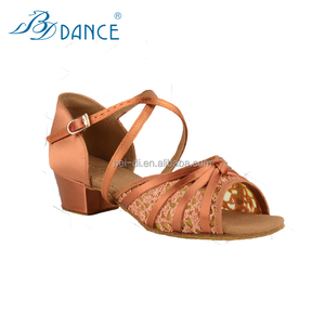 BD model 616 ladies/girls latin ballroom shoes with simple designed dance shoes