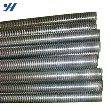 Zinc Galvanized Steel Construction Material carbon steel thread rod din975