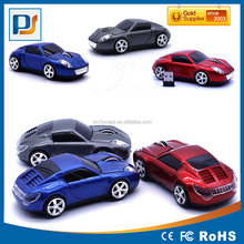 2.4GHz Cordless 3D 1600DPI Car Shape Usb Optical Wireless Mouse Mice Cool Mouse Race Car
