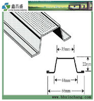 Suspended ceiling constructuion aluminum parts cheap furring channel