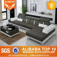 Indian factory price 2013 l shape ultra modern sofa