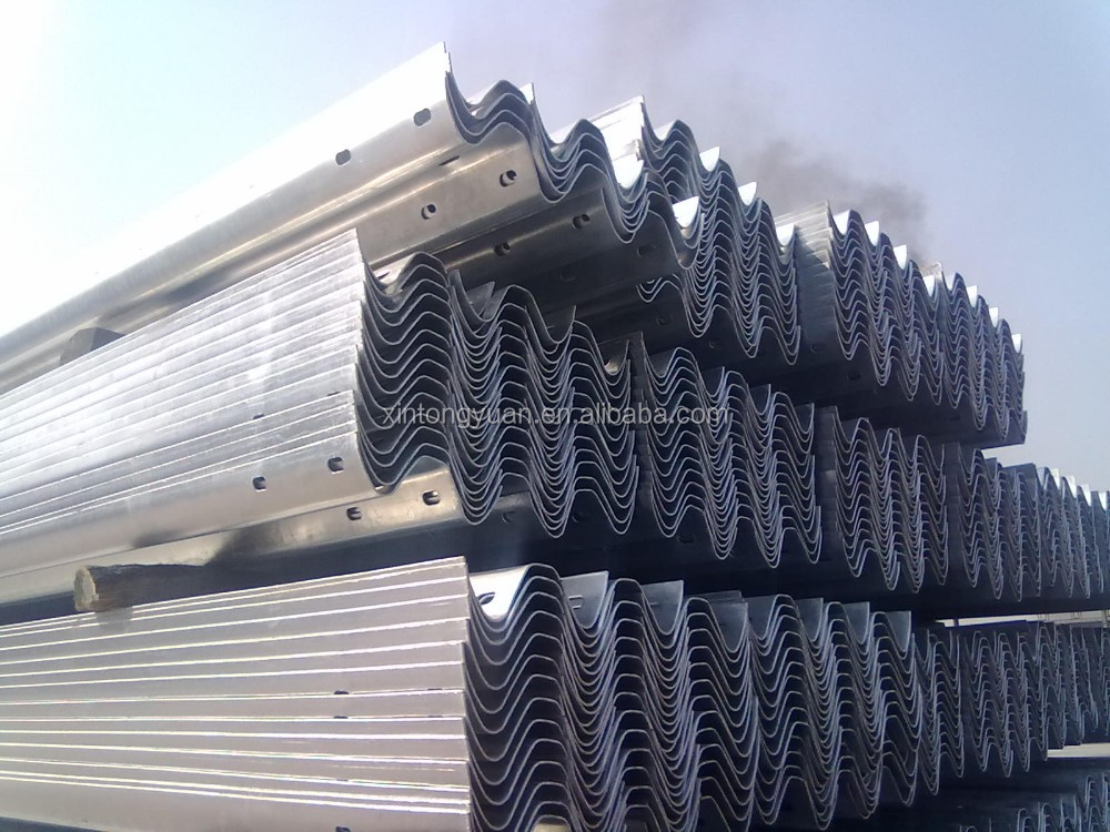 Road Safety Galvanized Highway Road Guardrail