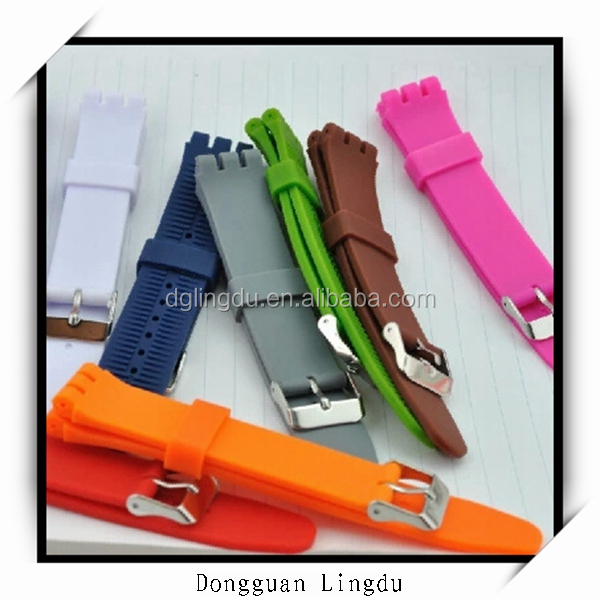 OEM watchband silicone watch strap/rubber strap watch