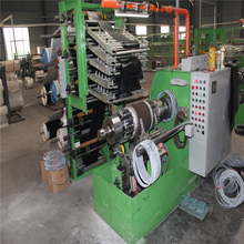 two wheels tyre spring turn up building machine