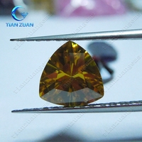 Hot sale fat-triangle multi-color cubic zirconia for wholesale CZ stone