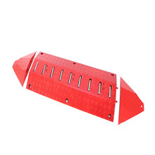 One-way entrance qualified manual tyre killer metal speed hump for parking security
