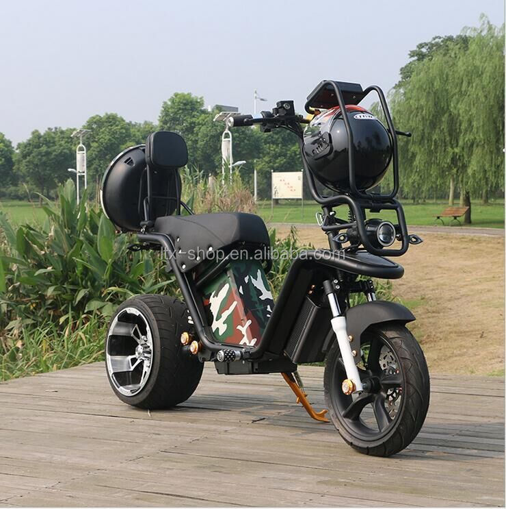 New Design Cool Camouflage Electric 1000W Motorcycle 2 Wheel High Quality Electric Motorcycle