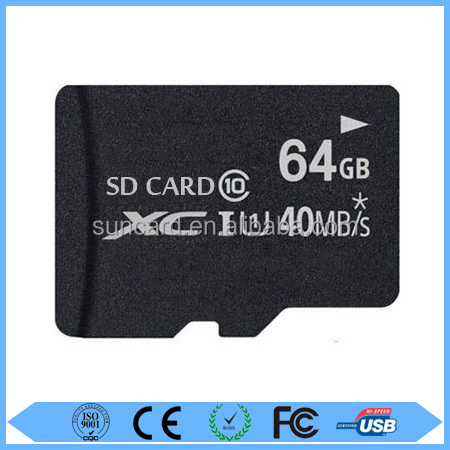Wholesale high speed 64gb sd card with best price