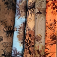 burn out 1mm velvet furniture upholstery fabric types