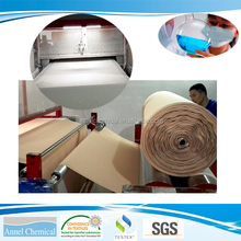 Solvent based lamination adhesive for spraying laminating machine using