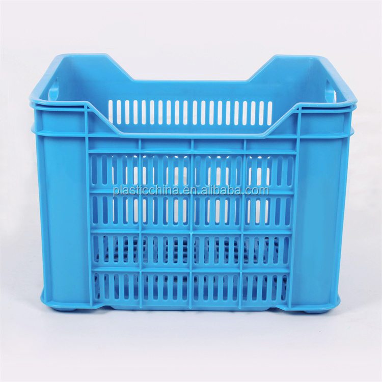 Heavy duty fruit and vegetable plate crates