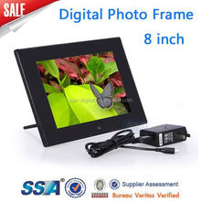 7 inch video digital photo frame with high quality lcd