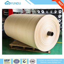 Hot sale 100% polypropylene waterproof woven tubular fabric